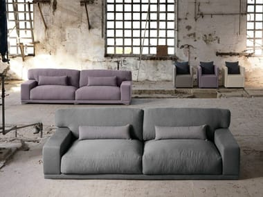 Sectional 3 seater fabric sofa DOYLE | 3 seater sofa