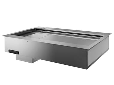 Stainless steel shelf for refrigerated display cabinet DPN80