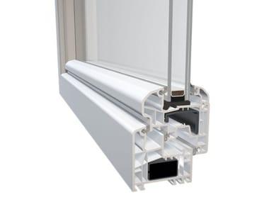 Finestra in PVC con doppio vetro DQG 70 EVO