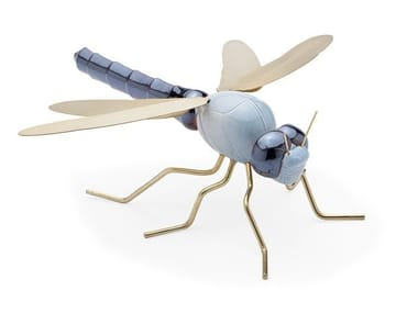 Ceramic decorative object DRAGONFLY BLUE