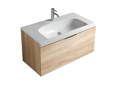 Wall-mounted vanity unit with drawers DREAM - 7320