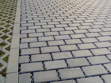 Concrete paving block DRENANTI