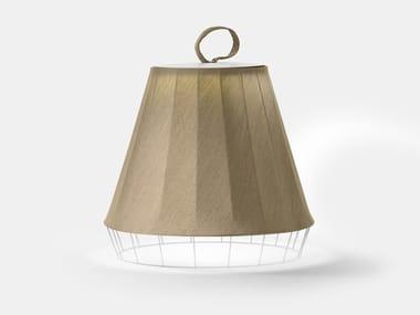 Lampada da terra per esterno a LED in tessuto DRESS D3