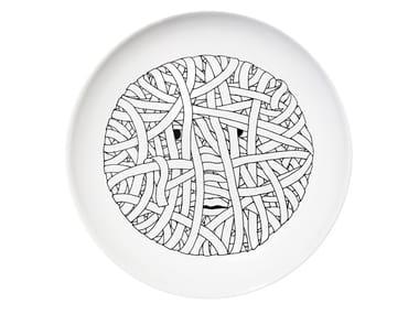 Ceramic dinner plate DRESS