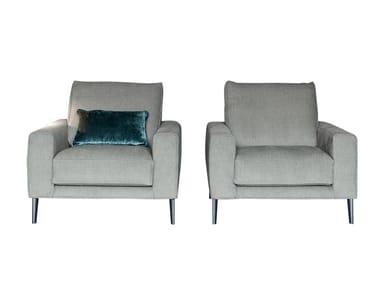 Armchair with armrests DRIVER | Armchair