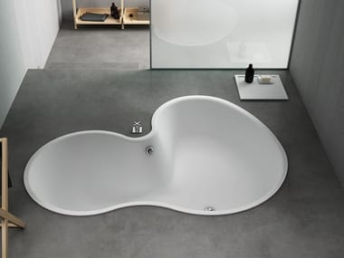 Built-in Solid Surface bathtub DR | Built-in bathtub