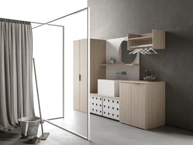 Mueble para lavandería composable DROP - COMPOSITION D04