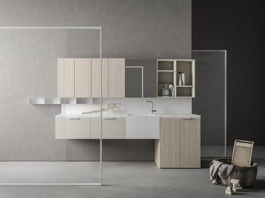 Mueble para lavandería composable DROP - COMPOSITION D05