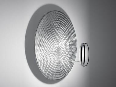Indirect light die cast aluminium wall light DROPLET MINI | Wall light