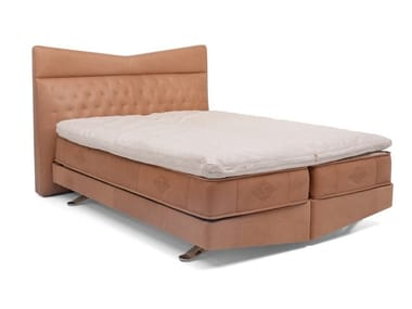 Double bed with upholstered headboard DS-1151 & DS-1152 | Bed