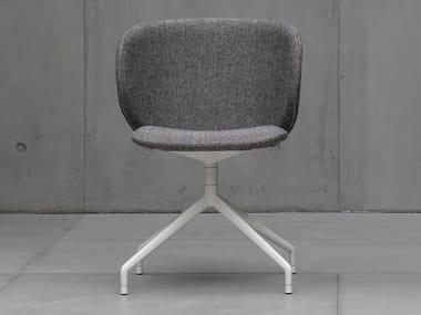 Swivel upholstered fabric chair DUA | Swivel chair