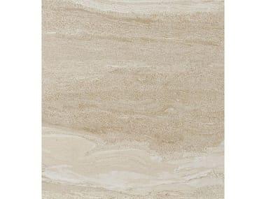 Pavimento/rivestimento in gres porcellanato effetto pietra DUALMOOD BEIGE