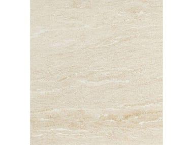 Pavimento/rivestimento in gres porcellanato effetto pietra DUALMOOD WHITE STONE