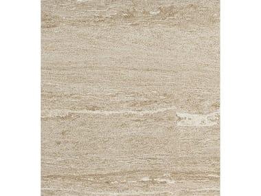 Pavimento/rivestimento in gres porcellanato effetto pietra DUALMOOD BEIGE STONE