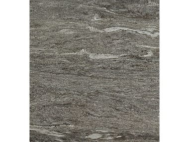 Pavimento/rivestimento in gres porcellanato effetto pietra DUALMOOD DARK GREY STONE