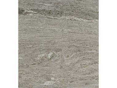 Pavimento/rivestimento in gres porcellanato effetto pietra DUALMOOD GREY STONE