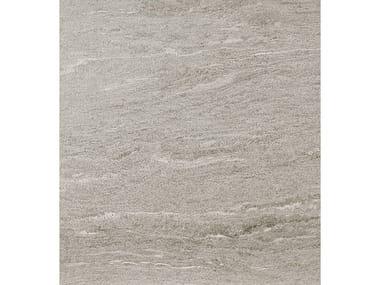 Pavimento/rivestimento in gres porcellanato effetto pietra DUALMOOD LIGHT GREY STONE
