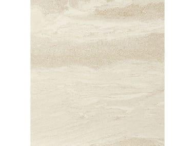 Pavimento/rivestimento in gres porcellanato effetto pietra DUALMOOD WHITE
