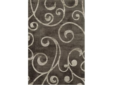 Hand-tufted rug DUCALE BROWN