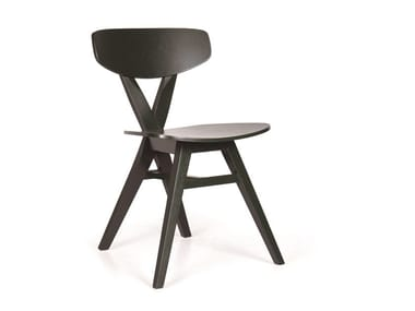 Wooden chair DUETO PL TP