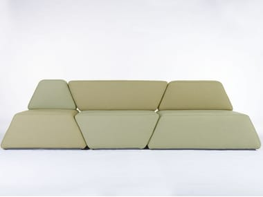Sectional fabric sofa DUNE | Sofa