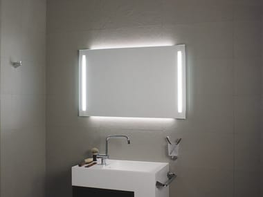 Bathroom mirror with integrated lighting DUO LED