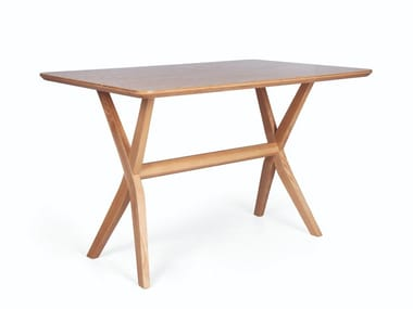 Rectangular wooden dining table DUO RECT