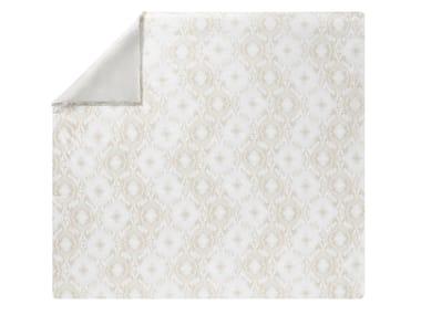 Copripiumino damascato stampato in cotone FUSION | Copripiumino