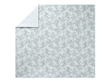 Copripiumino stampato in cotone con motivi floreali ERMITAGE | Copripiumino