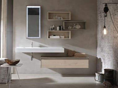 Washbasin countertop / bathroom cabinet E.GÒ - COMPOSITION 42
