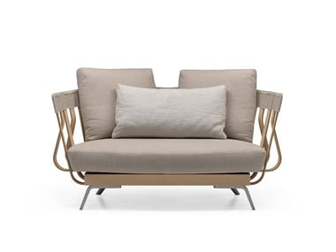 Fabric small sofa E LA NAVE VA ARMCHAIR - 02A