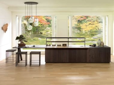 Fitted kitchen with island E7