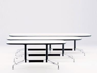 Mesa de reunião oval EAMES TABLES | Mesa de reunião oval