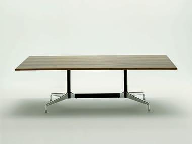 Tavolo da riunione rettangolare design EAMES TABLES | Tavolo da riunione rettangolare