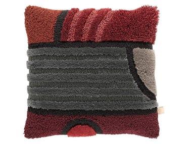 Square wool cushion EAST OF THE MOON | Cushion