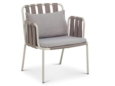 Garden easy chair with armrests TEJA | Easy chair