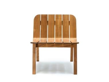 Teak easy chair NYORD | Easy chair