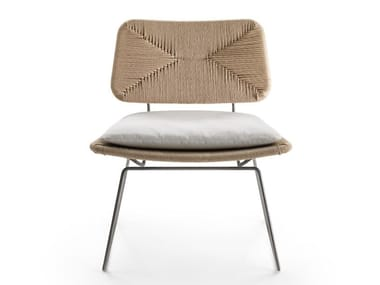 Sled base easy chair ECHOES | Easy chair