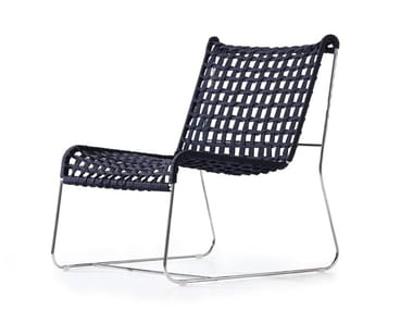 Garden stackable rope easy chair IN-OUT LO | Easy chair