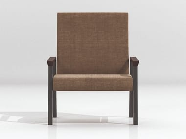 Modular easy chair with armrests STRING | Easy chair