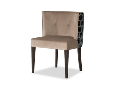 Upholstered velvet easy chair MILOS | Easy chair
