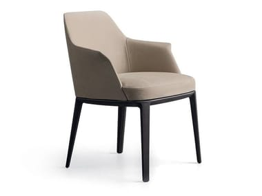 Upholstered chair with armrests SOPHIE | Chair with armrests