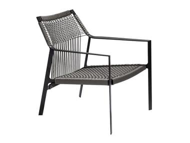 Cadeira lounge de Canax® para jardim com braços NODI | Cadeira lounge