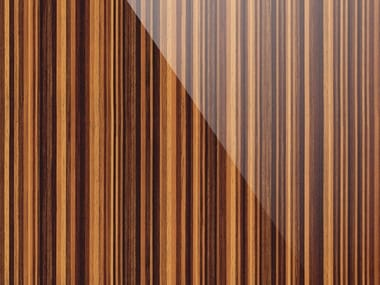 Adhesive PVC furniture foil with wood effect LACQUERED EBONY