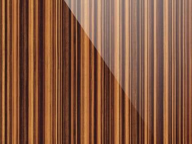 Rivestimento per mobili adesivo in PVC effetto legno EBANO LACCATO