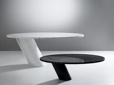 Tavolo ovale in marmo ECCENTRICO | Tavolo