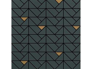 Mosaico in ceramica ECLETTICA | Mosaico Bronze Anthracite