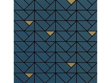 Mosaico in ceramica ECLETTICA | Mosaico Bronze Blue