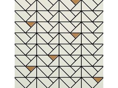 Mosaico in ceramica ECLETTICA | Mosaico Bronze Cream