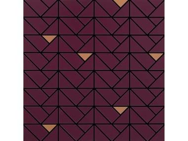 Mosaico in ceramica ECLETTICA | Mosaico Bronze Purple